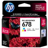 HP Tri-color Ink Cartridge 678 [CZ108AA] - Tinta Printer HP